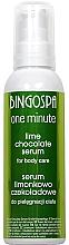 Parfums et Produits cosmétiques Sérum après-soleil au chocolat et lime pour corps - BingoSpa Serum Chocolate-Lime