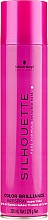 Parfums et Produits cosmétiques Laque brillance cheveux à tenue extra forte - Schwarzkopf Professional Silhouette Color Brilliance Hairspray