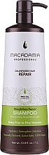 Parfums et Produits cosmétiques Shampooing végan à l'huile de noix de macadamia - Macadamia Professional Weightless Repair Shampoo