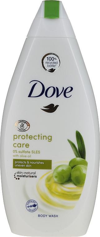 Gel douche à l'huile d'olive - Dove Protect Care Body Wash