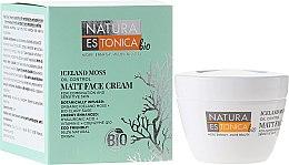 Parfums et Produits cosmétiques Crème à la mousse d'Islande bio et coenzyme Q10 pour visage - Natura Estonica Iceland Moss Face Cream