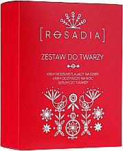 Parfums et Produits cosmétiques Kit soin visage - Rosadia (crème de jour et crème de nuit/2x50ml + sérum/30ml)