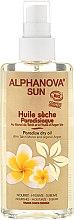 Parfums et Produits cosmétiques Huile sèche bio au monoï de Tahiti et huile d'argan - Alphanova Sun Dry Oil