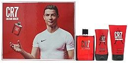 Parfums et Produits cosmétiques Cristiano Ronaldo CR7 - Set pour homme (eau de toilette/100m + gel douche/150ml + baume après-rasage/100ml)