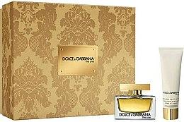 Parfums et Produits cosmétiques Dolce & Gabbana The One - Coffret (eau de parfum/30ml + lotion corporelle/50ml)