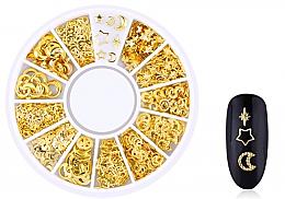 Parfums et Produits cosmétiques Décorations pour ongles, Gold-3 - Deni Carte