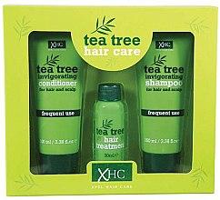 Parfums et Produits cosmétiques Xpel Marketing Ltd Tea Tree Invigorating - Set(shampooing/100 ml + après-shampooing/100 ml + sérum/30 ml)
