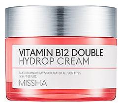 Parfums et Produits cosmétiques Crème à la vitamine B12 pour visage - Missha Vitamin B12 Double Hydrop Cream