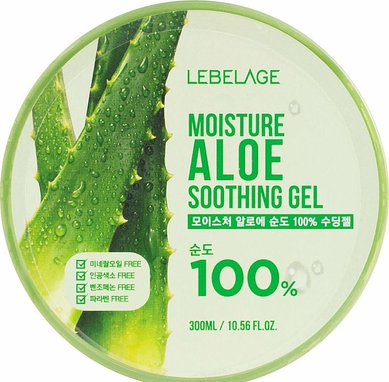 Gel apaisant à l'aloe vera - Lebelage Moisture Aloe 100% Soothing Gel