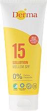 Parfums et Produits cosmétiques Lotion solaire pour corps et visage - Derma Sun Lotion SPF 15