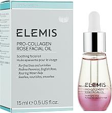 Parfums et Produits cosmétiques Huile de rose de Damas apaisante pour visage - Elemis Pro-Collagen Rose Facial Oil