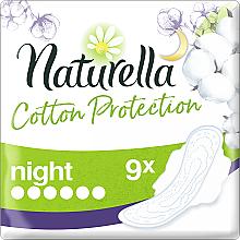 Parfums et Produits cosmétiques Serviettes hygiéniques, 9 pcs - Naturella Cotton Protection Ultra Night