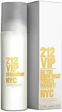 Parfums et Produits cosmétiques Carolina Herrera 212 VIP - Déodorant parfumé
