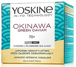 Parfums et Produits cosmétiques Crème au caviar vert d'algues pour visage - Yoskine Okinawa Green Caviar 70+