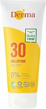 Parfums et Produits cosmétiques Lotion solaire hypoallergénique pour corps et visage - Derma Sun Lotion SPF30