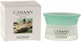 Parfums et Produits cosmétiques Crème aux minéraux de la mer Morte pour le contour des yeux - Canaan Minerals & Herbs Eye Cream