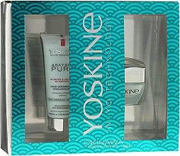 Parfums et Produits cosmétiques Set - Yoskine Okinava Green Caviar 50+ (crème/50ml + exfoliant75ml)