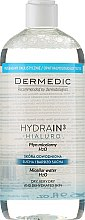Parfums et Produits cosmétiques Eau micellaire démaquillante - Dermedic Hydrain3 Hialuro Micellar Water