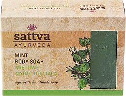 Parfums et Produits cosmétiques Savon artisanal à la menthe pour corps - Sattva Hand Made Soap Mint