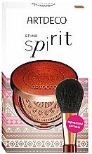 Parfums et Produits cosmétiques Artdeco Ethno Spirit - Set (poudre pour visage/9g + pinceau poudre)