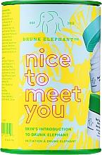 Parfums et Produits cosmétiques Drunk Elephant Nice to Meet You - Coffret soin visage (cr/15ml + clean/22g + boost/1g)