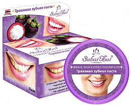 Parfums et Produits cosmétiques Dentifrice au mangoustan et aux herbes - Sabai Thai Herbal Mangosteen Toothpaste