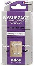Parfums et Produits cosmétiques Top coat à séchage rapide - Ados Fast Dry Top Coat