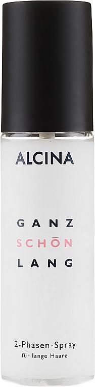 Spray bi-phasé pour cheveux - Alcina Ganz Schon Lang 2-Phasen-Spray