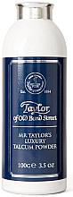 Parfums et Produits cosmétiques Taylor of Old Bond Street Mr Taylor Luxury Talcum Powder - Talc pour visage et corps