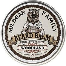 Parfums et Produits cosmétiques Baume à barbe hydratant à l'arôme de forêt de pins - Mr. Bear Family Beard Balm Woodland