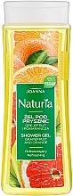 Parfums et Produits cosmétiques Gel douche au pamplemousse et orange - Joanna Naturia Grapefruit and Orange Shower Gel