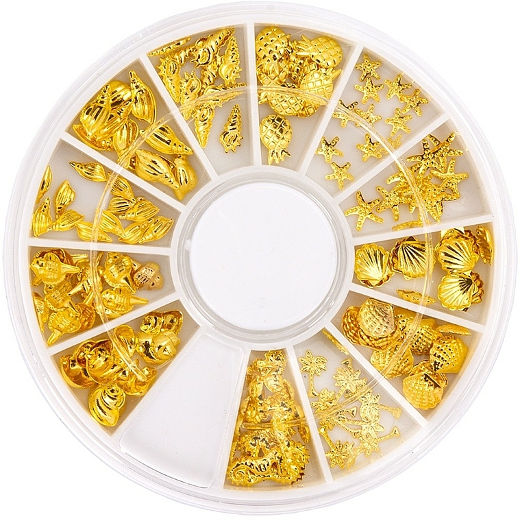 Carrousel pour décorations d'ongles - Peggy Sage Carousel For Nail Decorations Summer Gold — Photo N1