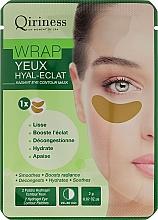 Parfums et Produits cosmétiques Patchs hydrogel pour le contour des yeux - Qiriness Wrap Yeux Hyal-Eclat Radiant Eye Patches