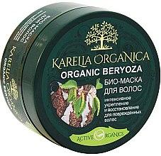 Parfums et Produits cosmétiques Masque bio intensément fortifiant et régénérant pour cheveux abîmés, Bouleau bio - Fratti NB Karelia Organica