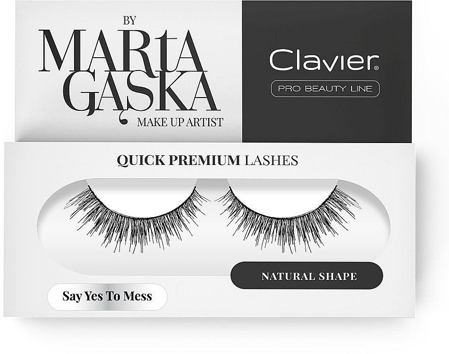 Faux cils - Clavier Quick Premium Lashes Say Yes To Mess SK09