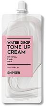 Parfums et Produits cosmétiques Crème tonifiante à l'acide hyaluronique pour visage - SNP Mini Water Drop Tone Up Cream (mini)