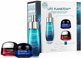 Parfums et Produits cosmétiques Coffret cadeau - Biotherm Blue Therapy (cr/15ml + n/cr/15ml + elixir/30ml)