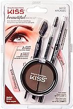 Parfums et Produits cosmétiques Kit de modelage des sourcils - Kiss Beautiful Brow Kit