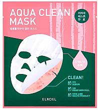 Parfums et Produits cosmétiques Masque en biocellulose pour visage - Elroel Aqua Clean Mask