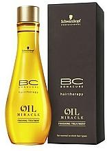 Parfums et Produits cosmétiques Huile de finition pour cheveux - Schwarzkopf Professional Bonacure BC