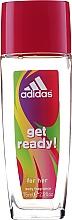 Adidas Get Ready! For Her - Set (déodorant/75ml+gel douche/250ml) — Photo N3