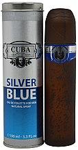 Parfums et Produits cosmétiques Cuba Silver Blue - Eau de Toilette