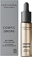 Parfums et Produits cosmétiques Enlumineur liquide - Madara Cosmetics Cosmic Drops Buildable Highlighter