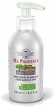 Parfums et Produits cosmétiques Savon liquide de Marseille à la fleur d'amandier - Ma Provence Liquid Marseille Soap Almond