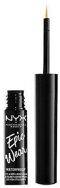 Eyeliner liquide waterproof - NYX Epic Wear Liquid Liner