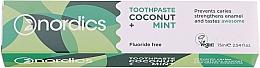 Parfums et Produits cosmétiques Dentifrice à l'huile de noix de coco et menthe - Nordics Coconut + Mint Toothpaste