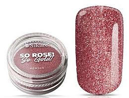 Parfums et Produits cosmétiques Poudre pour ongles - Silcare So Rose So Gold