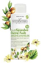 Parfums et Produits cosmétiques Huile d'argan à l'extrait d'hamamélis pour cheveux - MaterNatura