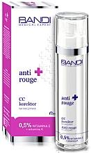 Parfums et Produits cosmétiques Bandi Medical Expert Anti Rouge CC Capillary Corrector - Crème de soin tonifiante pour visage