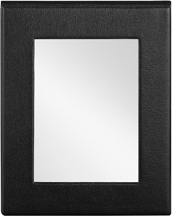 Miroir de poche pliable, noir - MakeUp Pocket Mirror Black — Photo N2